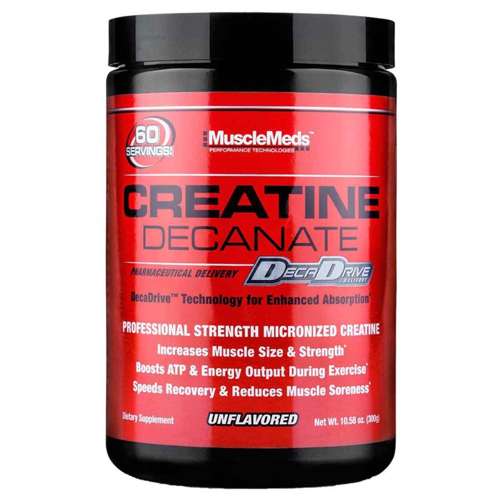 MuscleMeds Creatine Decanate Unflavored 300 Grams Creatine MuscleMeds  (1058629582891)