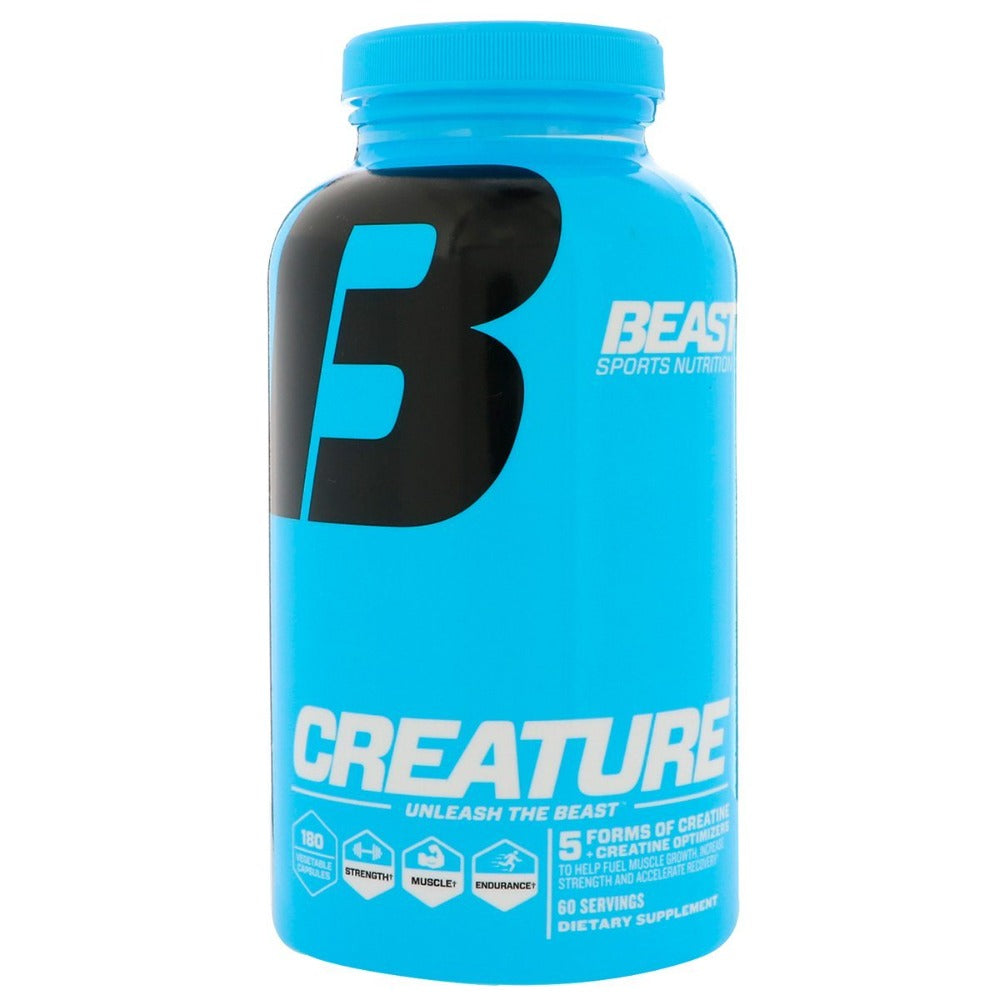 Beast Sports Nutrition Creature 180 Caps Creatine Beast Sports Nutrition  (1058786672683)