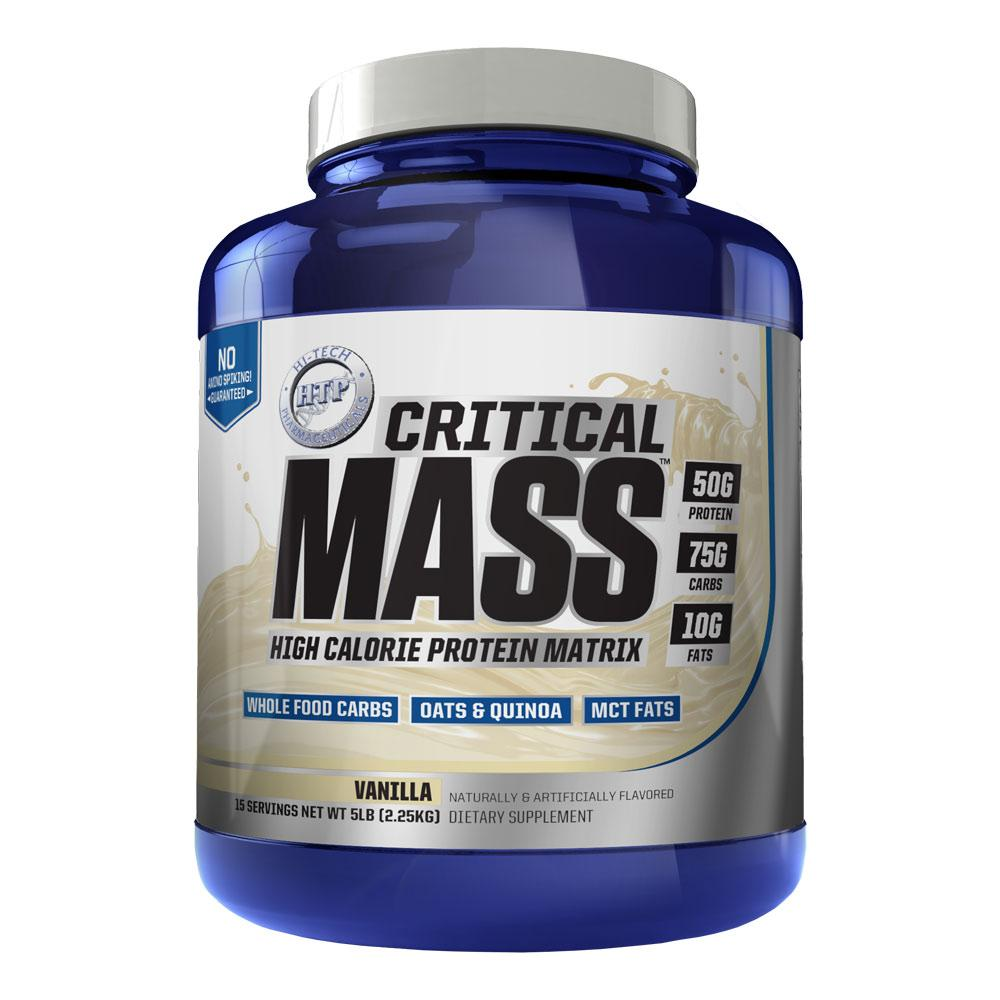 Hi-Tech Pharmaceuticals Critical Mass 5lb Protein Powders Hi-Tech Pharmaceuticals  (4424296431681)