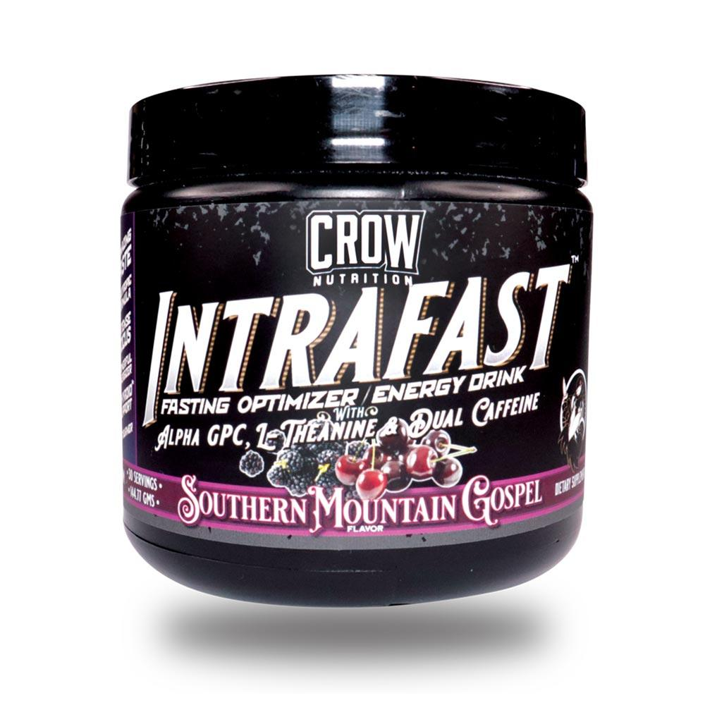 Crow Intrafast 30/sv Pre-Workouts Crow Nutrition Southern Mountain Gospel  (4559963652161)