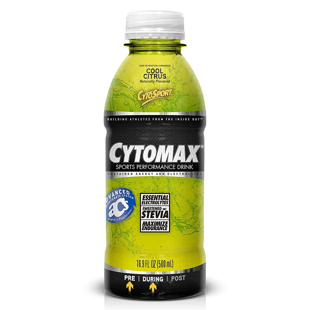 Cytomax RTD 12/Case Sports Performance Recovery CytoSport Cool Citrus  (1556903788587)