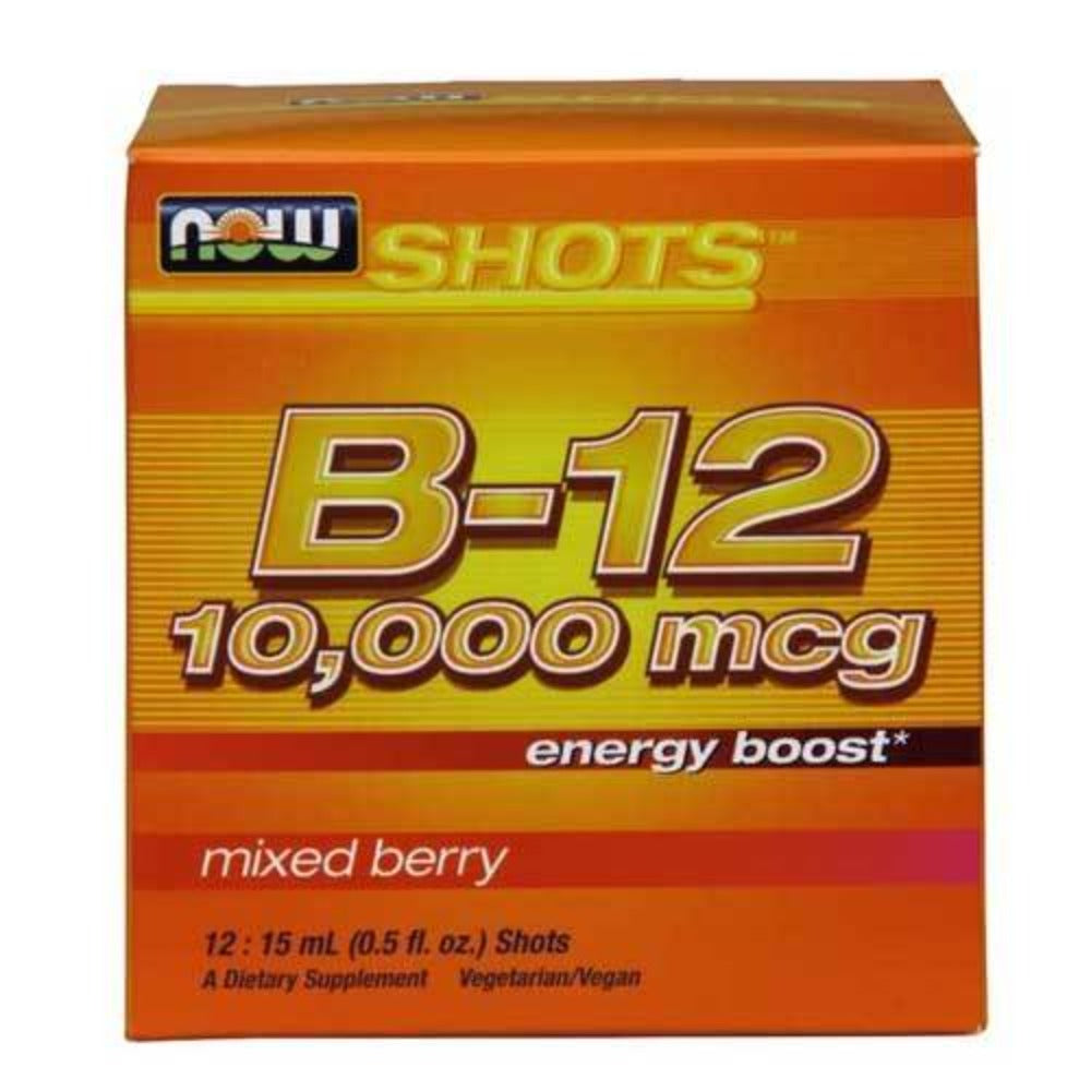 Now Foods Energy B-12 Now Shot 15 Ml 12 Pack Vitamins Now Foods  (1059157770283)