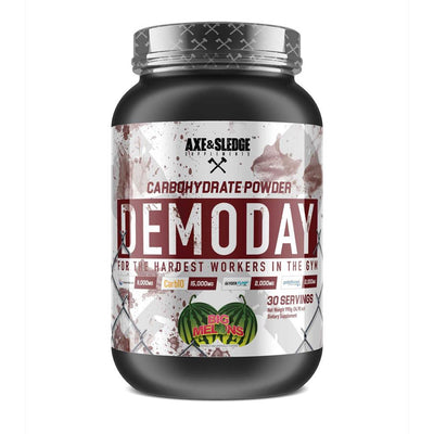 Axe & Sledge Demo Day 30 Servings | Carbohydrate Powder Sports Performance Recovery AXE & SLEDGE Big Melons  (1812331135019)