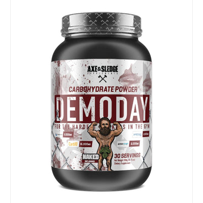 Axe & Sledge Demo Day 30 Servings | Carbohydrate Powder Sports Performance Recovery AXE & SLEDGE NAKED  (1812331135019)