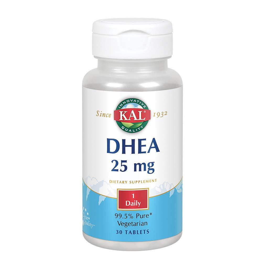 Kal DHEA 25mg 30 Tablets | Immune Function Specialty Health Products Kal  (1790025891883)