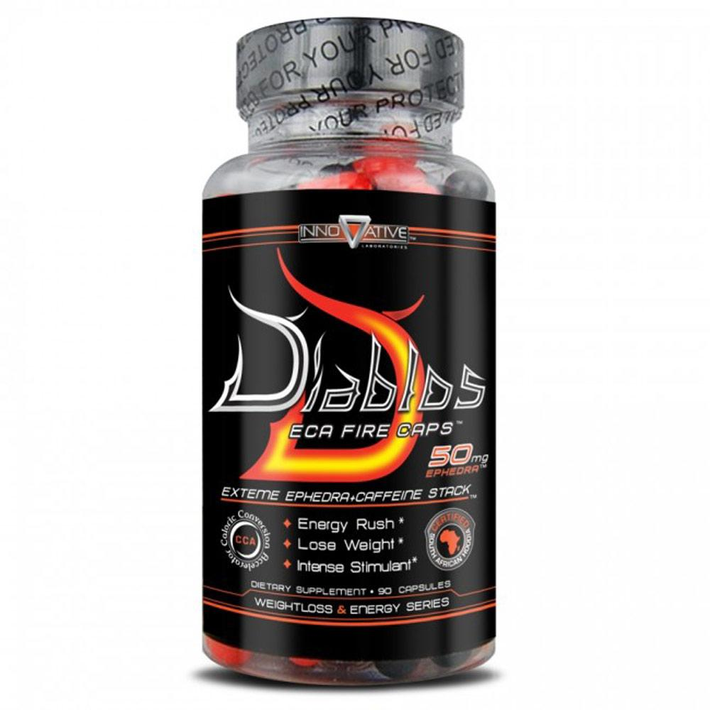 Innovative Diet Labs Diablos ECA Fire Caps 90 Caps Diet/Energy Innovative Labs  (1059063988267)