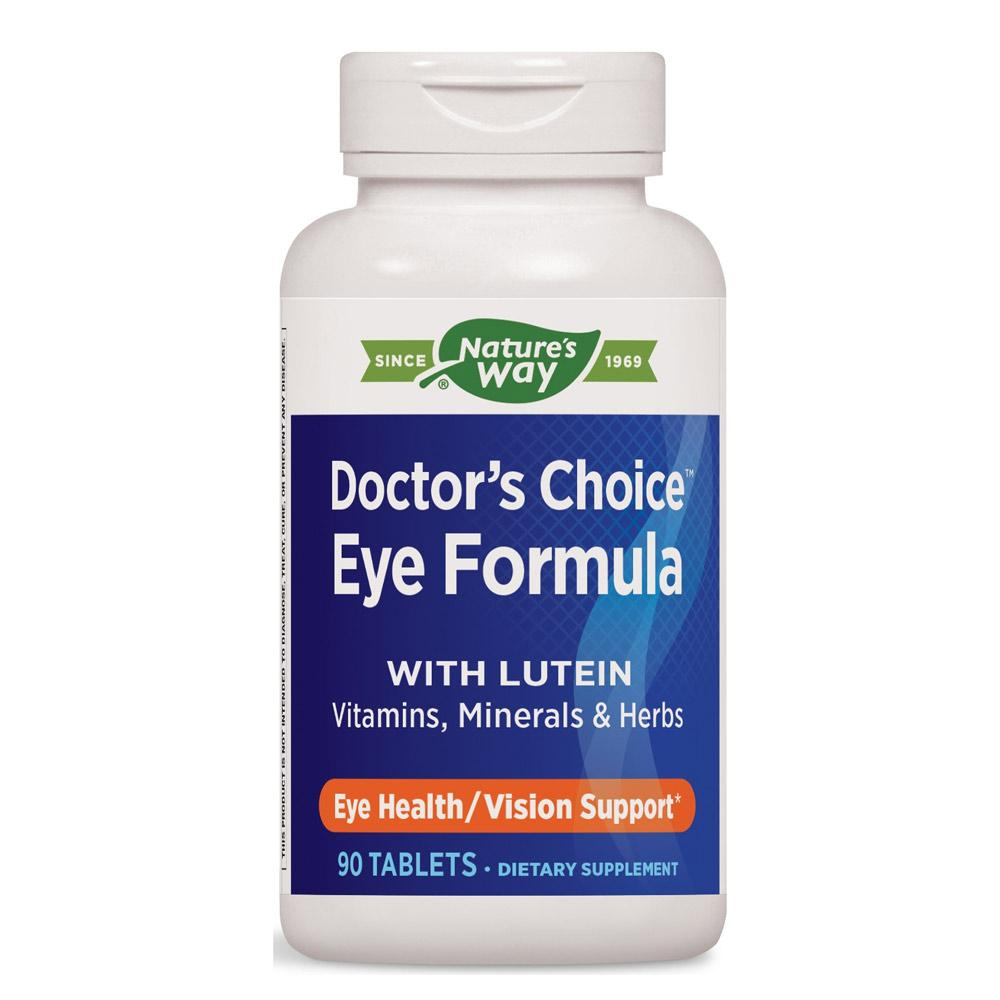 Nature's Way Doctor's Choice Eye Formula 90 Tablets Other Supplements Nature's Way  (1057917927467)