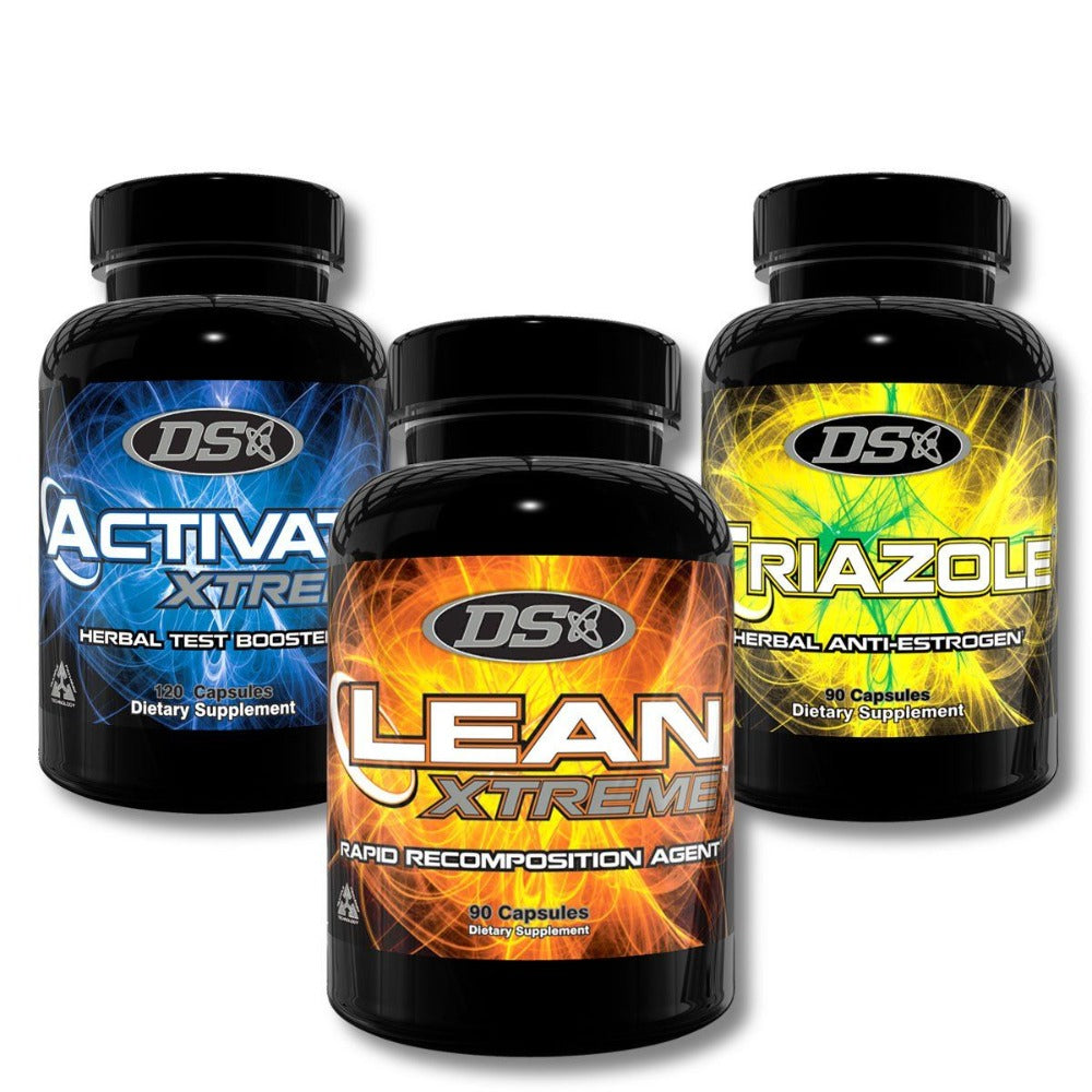 Driven Sports Stack (Lean Xtreme, Activate Xtreme, Triazole) Testosterone Boosters Driven Sports  (1161644441643)