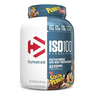 Dymatize ISO 100 Hydrolyzed Whey 3 Lbs Protein Dymatize Cocoa Pebbles  (1058767536171)