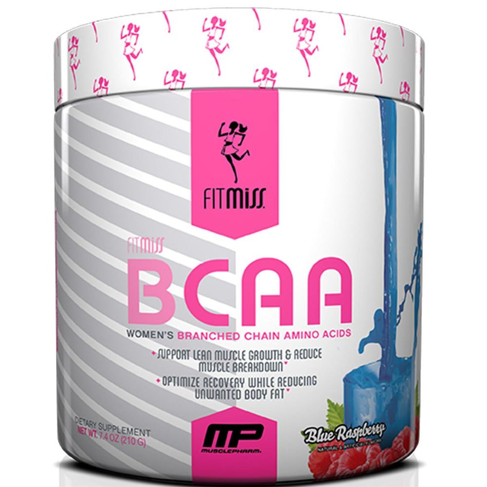FitMiss BCAA 30 Servings Amino Acids FitMiss Blue Raspberry  (1059170844715)