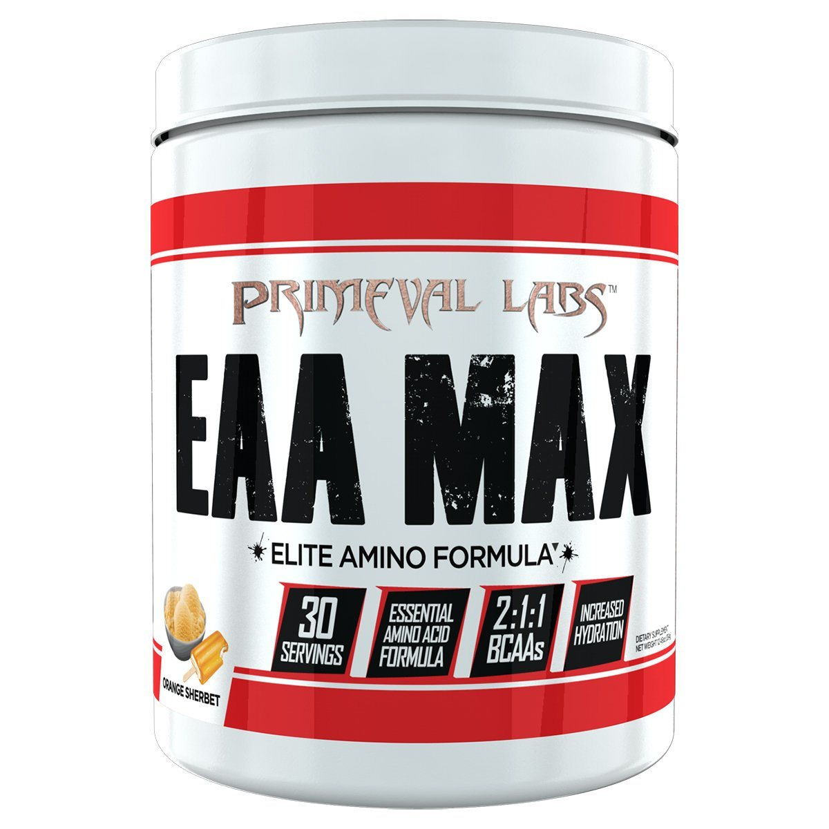 Primeval Labs EAA Max 30 Servings Amino Acids Primeval Labs  (1059279142955)