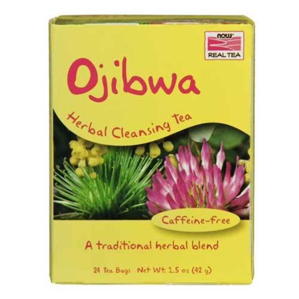 Now Foods Ojibwa Tea Bags 24 Bags Teas Now Foods  (1059133587499)