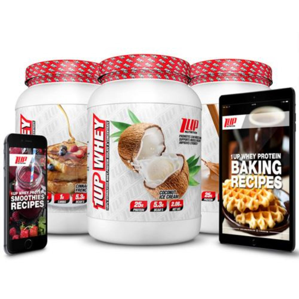 1Up Nutrition 1Up Whey 2 Lbs Protein 1Up Nutrition Coconut Ice Cream  (1059243261995)