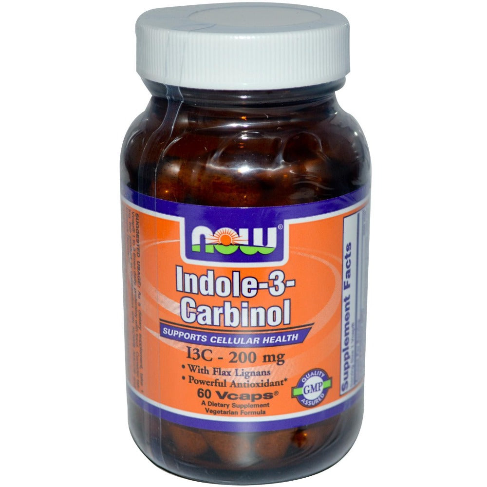 Now Foods Indole-3-Carbinol 200mg 60 Vege Caps Other Supplements Now Foods  (1059022438443)