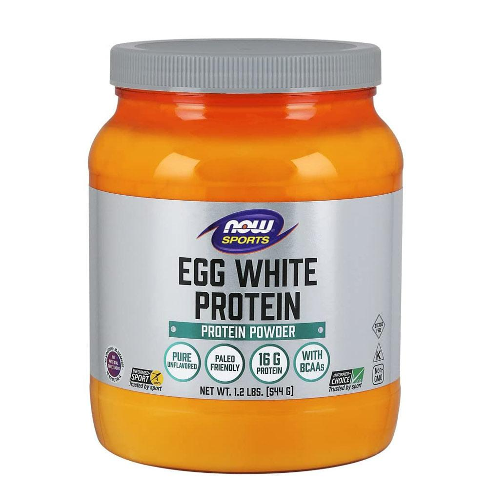 Now Foods Egg White Pure Powder 1.2 Lb Protein Now Foods  (1059133718571)