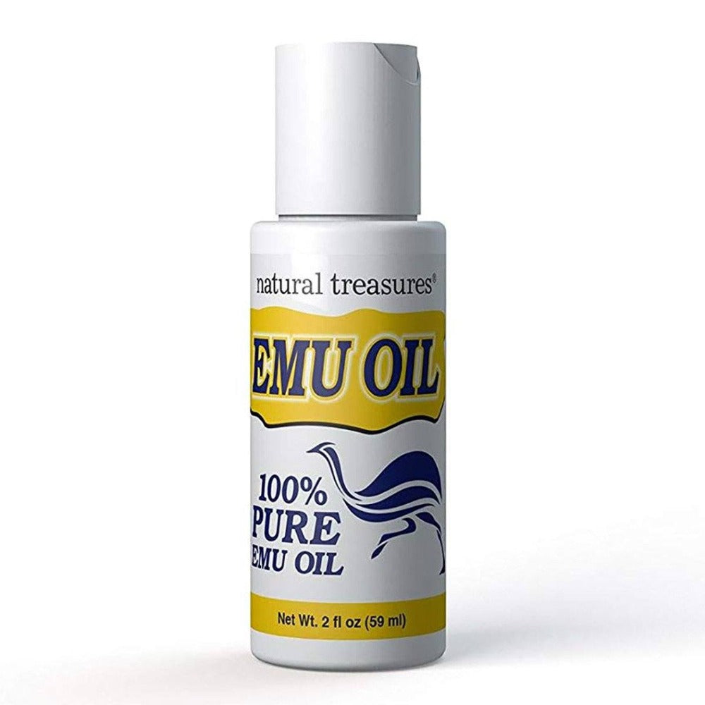 Natural Treasures Emu Oil 2 FL Oz Specialty Health Products Natural Treasures  (1519274557483)