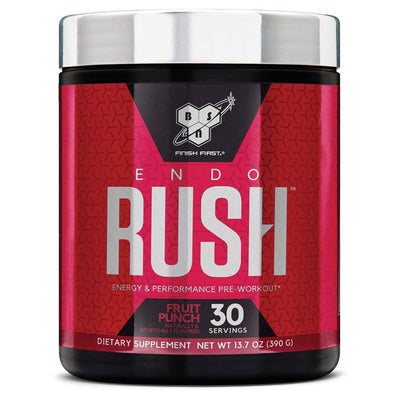 BSN Endorush 30 Servings Pre-workout BSN Fruit Punch  (1533309091883)