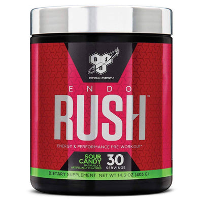 BSN Endorush 30 Servings Pre-workout BSN Sour Candy  (1533309091883)