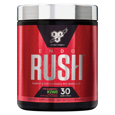 BSN Endorush 30 Servings Pre-workout BSN Strawberry Kiwi  (1533309091883)