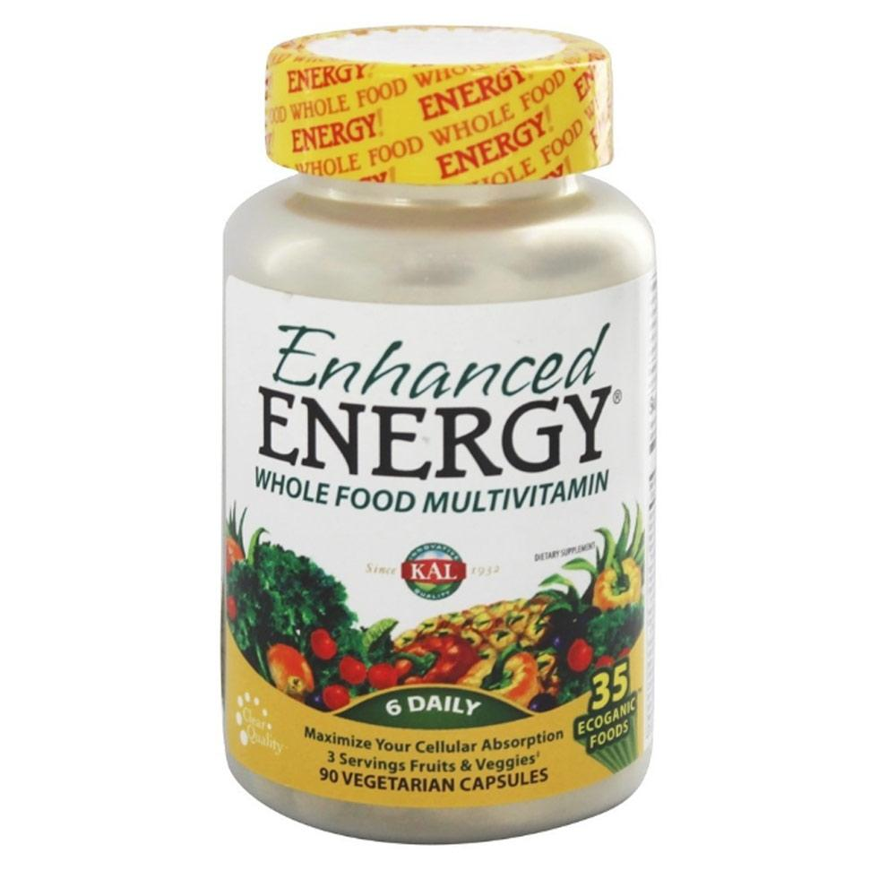 Kal Enhanced Energy Wholefood Multivitamin 90 Tablets | Multivitamin Specialty Health Products Kal  (1790031691819)