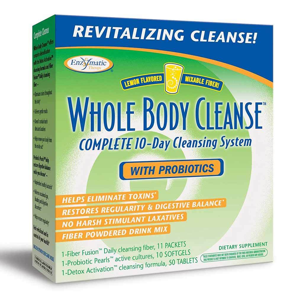 Enzymatic Therapy Whole Body Cleanse Drink Digestive Health Enzymatic Therapy  (1770315153451)