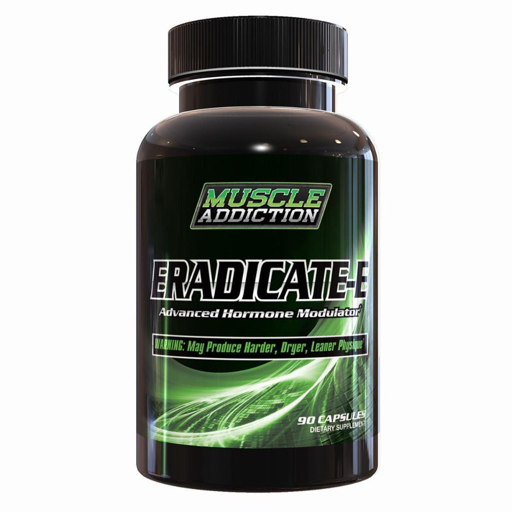 Muscle Addiction Eradicate-E 90 Caps Sports Performance Recovery Muscle Addiction  (1328867082283)