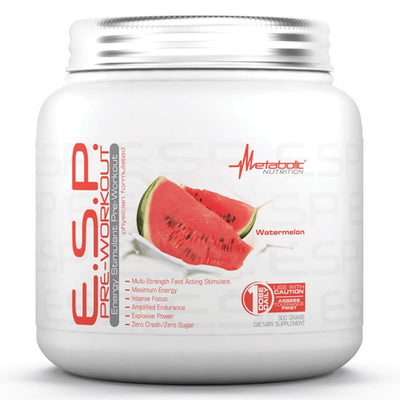 Metabolic Nutrition E.S.P. 300 Grams Pre-workout Metabolic Nutrition Watermelon  (1059080437803)