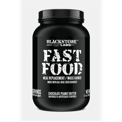 Blackstone Labs Fast Food 56 Servings Meal Replacement Powders Blackstone Labs Chocolate Peanut Butter  (1847324442667)
