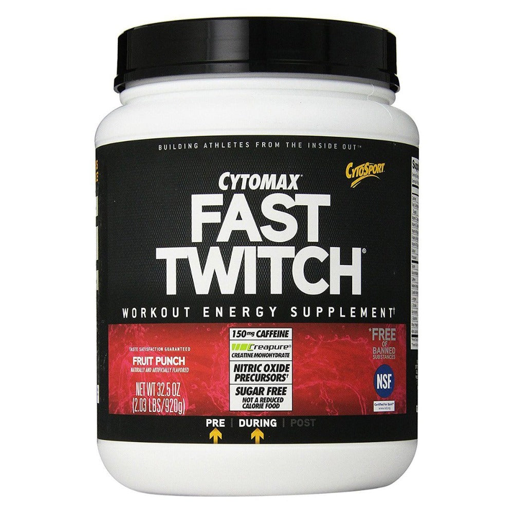 Fast Twitch 2.04 Lbs | CytoSport Pre-workout CytoSport  (1058022490155)