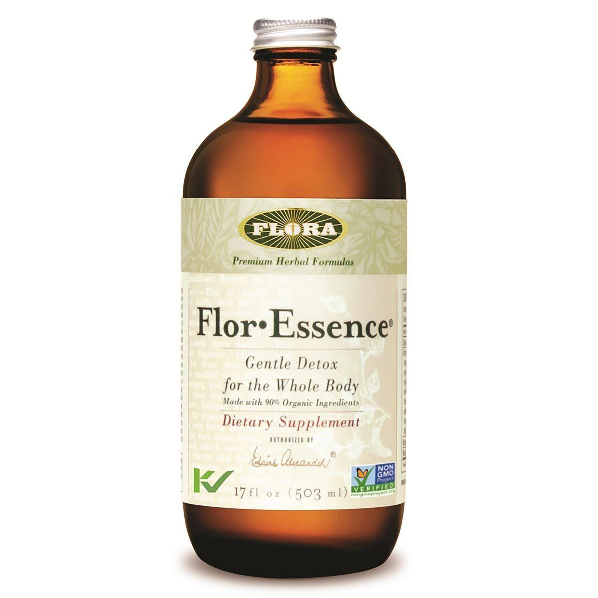 Flora (Udo's Choice) Flor-Essence Tea 17oz Liquid Teas Flora (Udo's Choice)  (1057939619883)