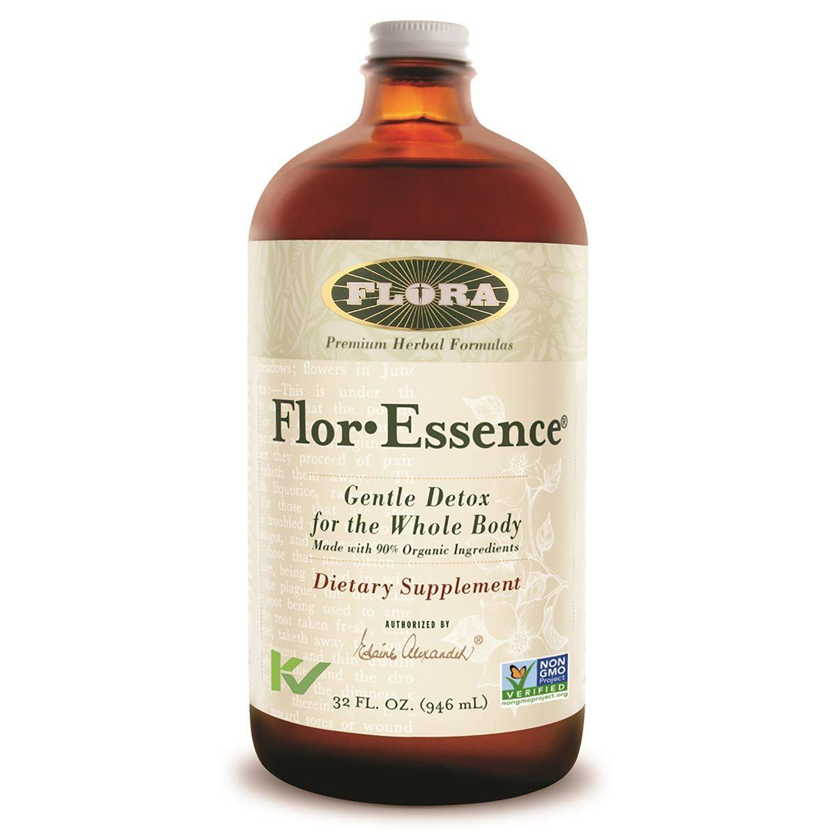 Flora (Udo's Choice) Flor-Essence Tea 32oz Liquid Teas Flora (Udo's Choice)  (1058170175531)