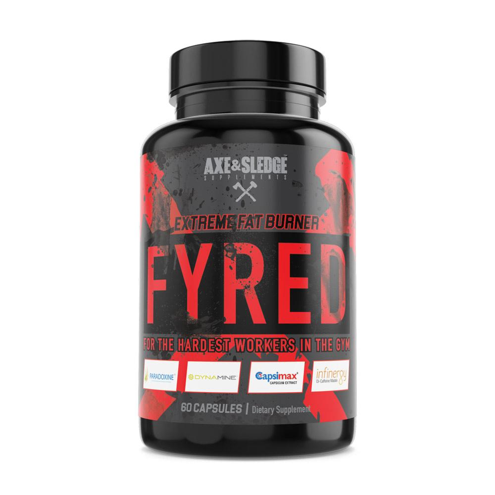 AXE & SLEDGE FYRED 60C Fat Burner AXE & SLEDGE  (1838996324395)