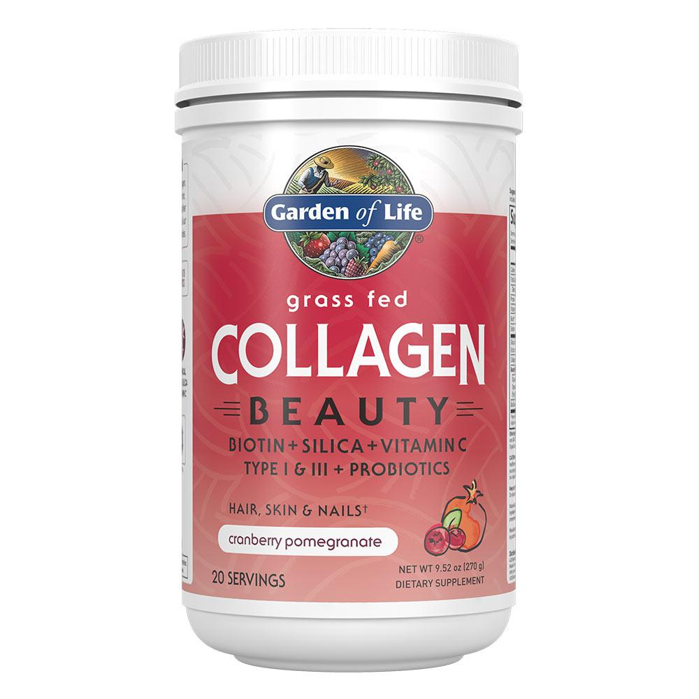 Garden Of Life Grass Fed Collagen Beauty Protein Powders Garden of Life Cranberry Pomegranate  (1622411116587)