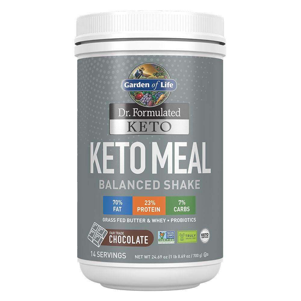 Garden Of Life Keto Meal Meal Replacement Powders Garden of Life CHOCOALTE  (1622410395691)