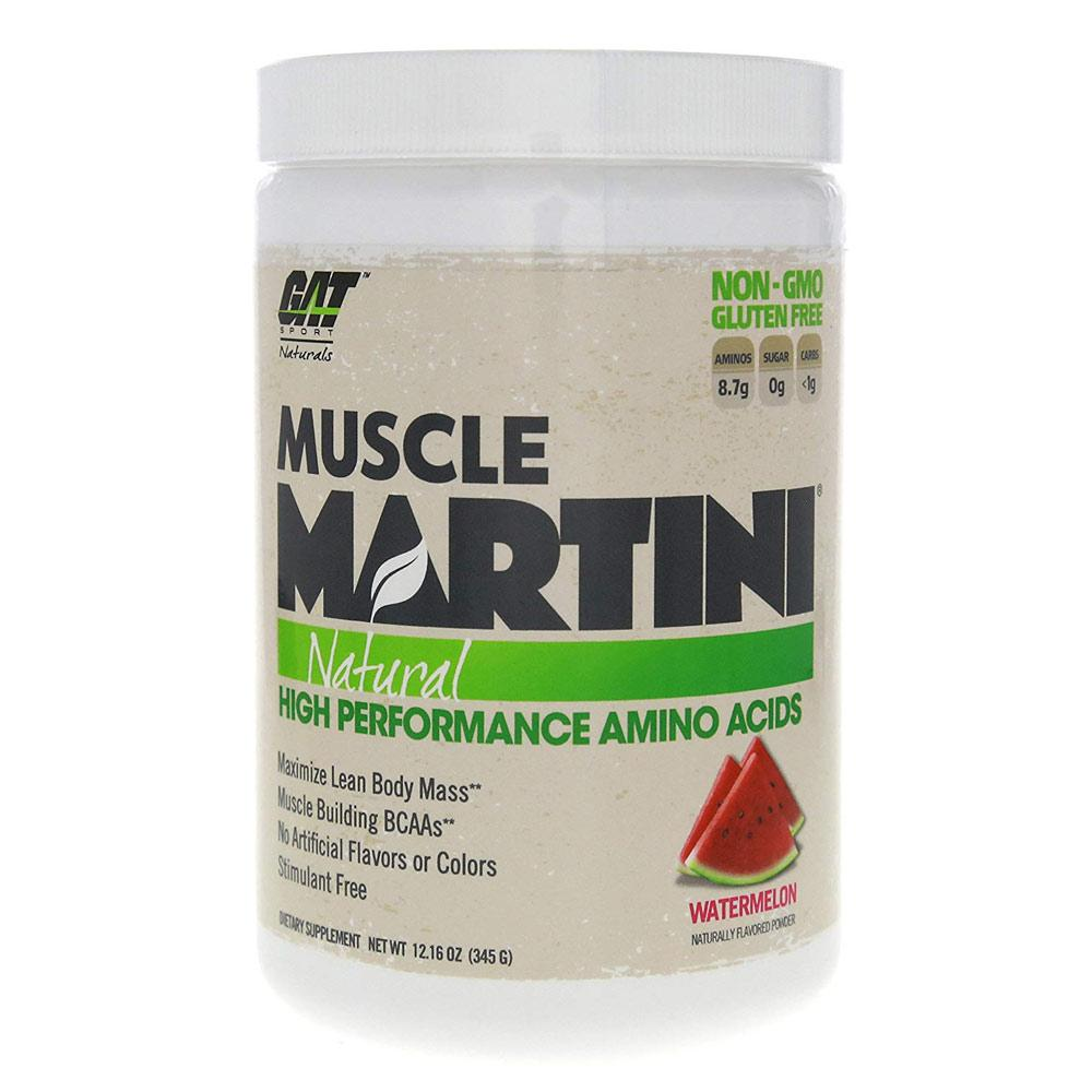 Muscle Martini 30 Servings Amino Acids GAT Watermelon  (1588938375211)