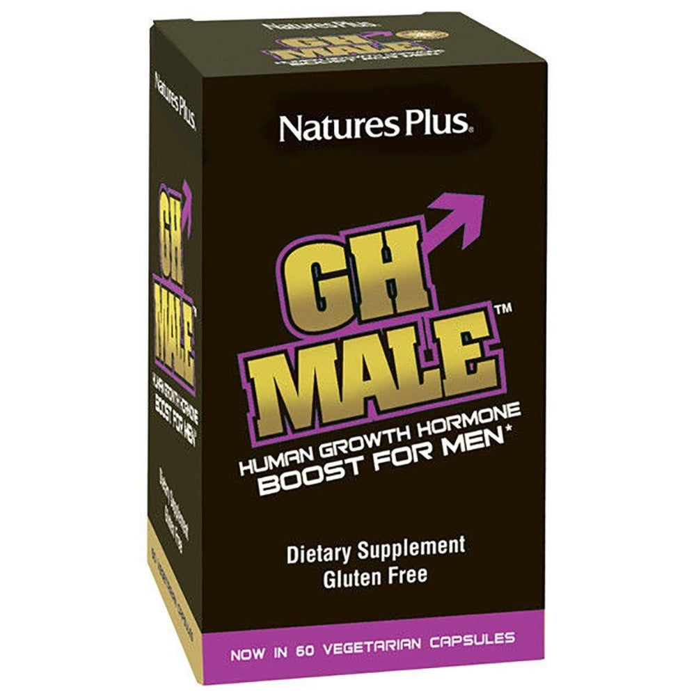 Nature's Plus GH Male 60 Caps Nature's Plus  (1058744926251)