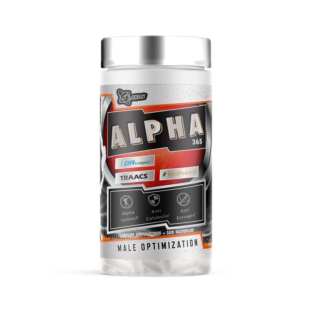 Glaxon Alpha 365 180 Capsules Sports Performance Recovery Glaxon  (4465634541633)