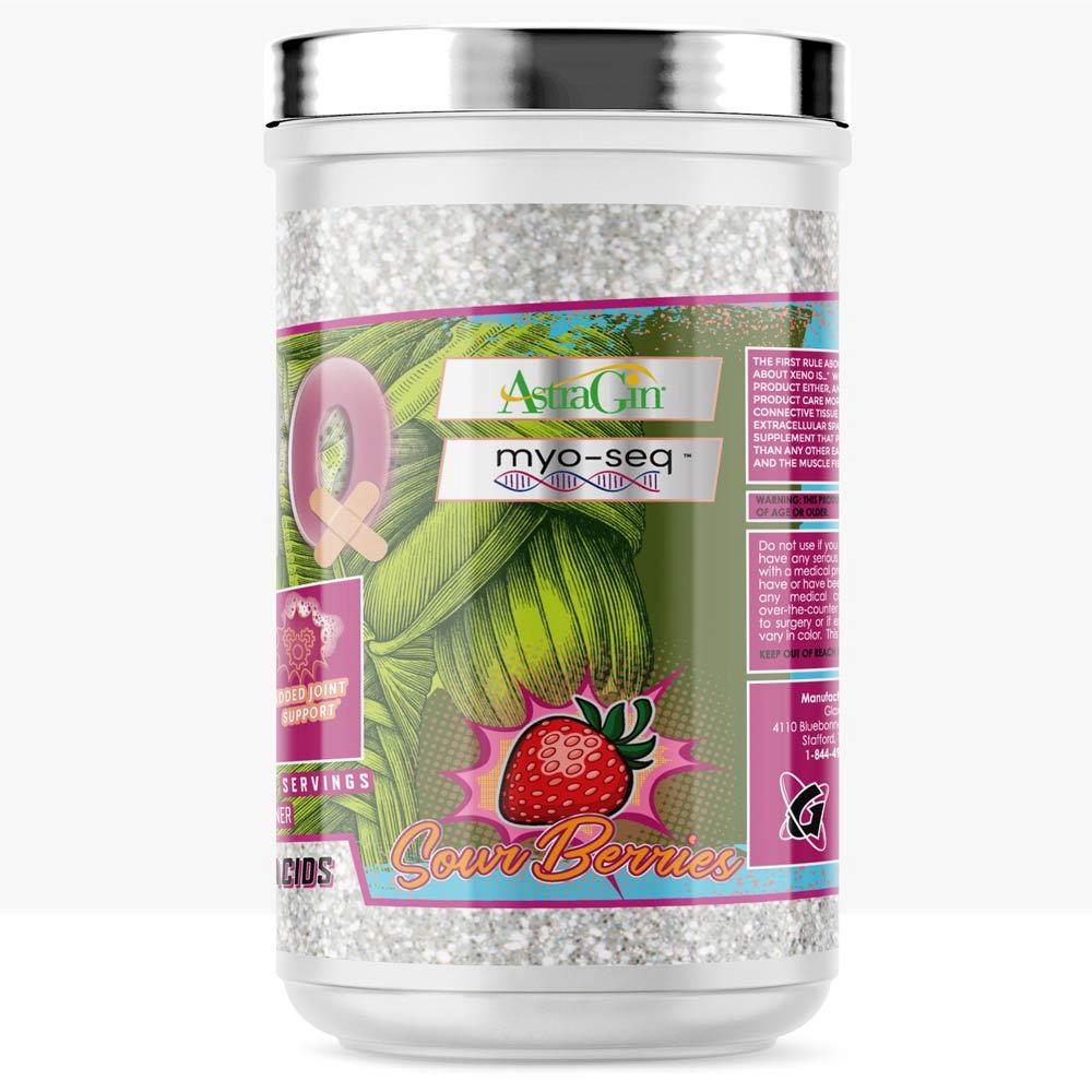 Glaxon Xeno EAAs 42 Servings Amino Acids Glaxon Sour Berries  (4407250812993)