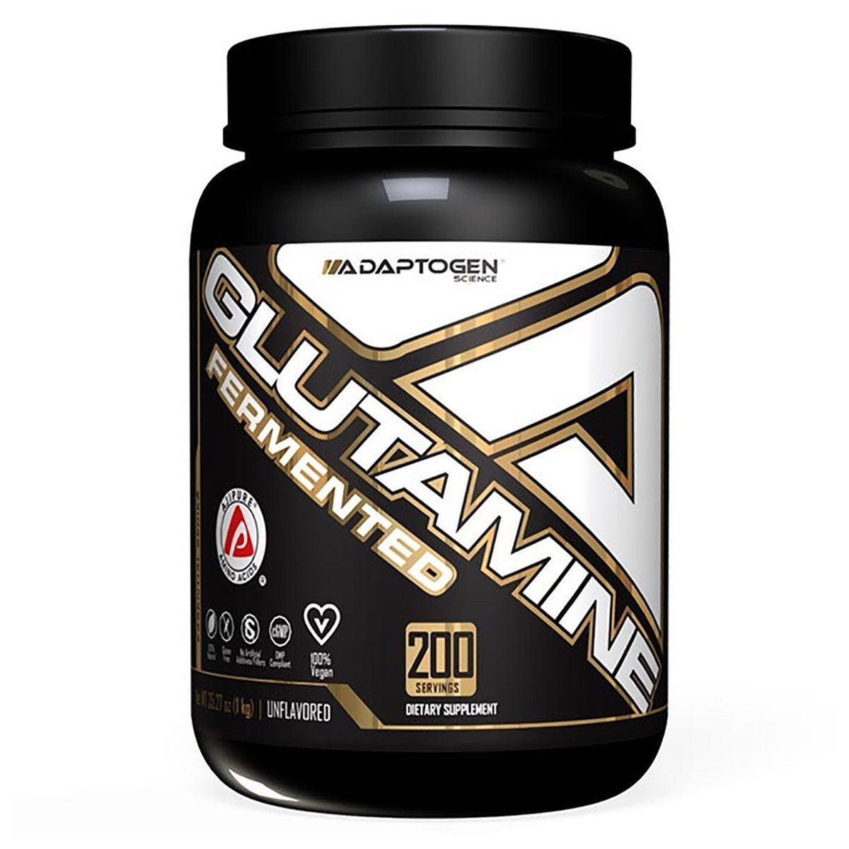 Adaptogen Science Glutamine 200 servings Amino Acids Adaptogen Science  (1424014966827)