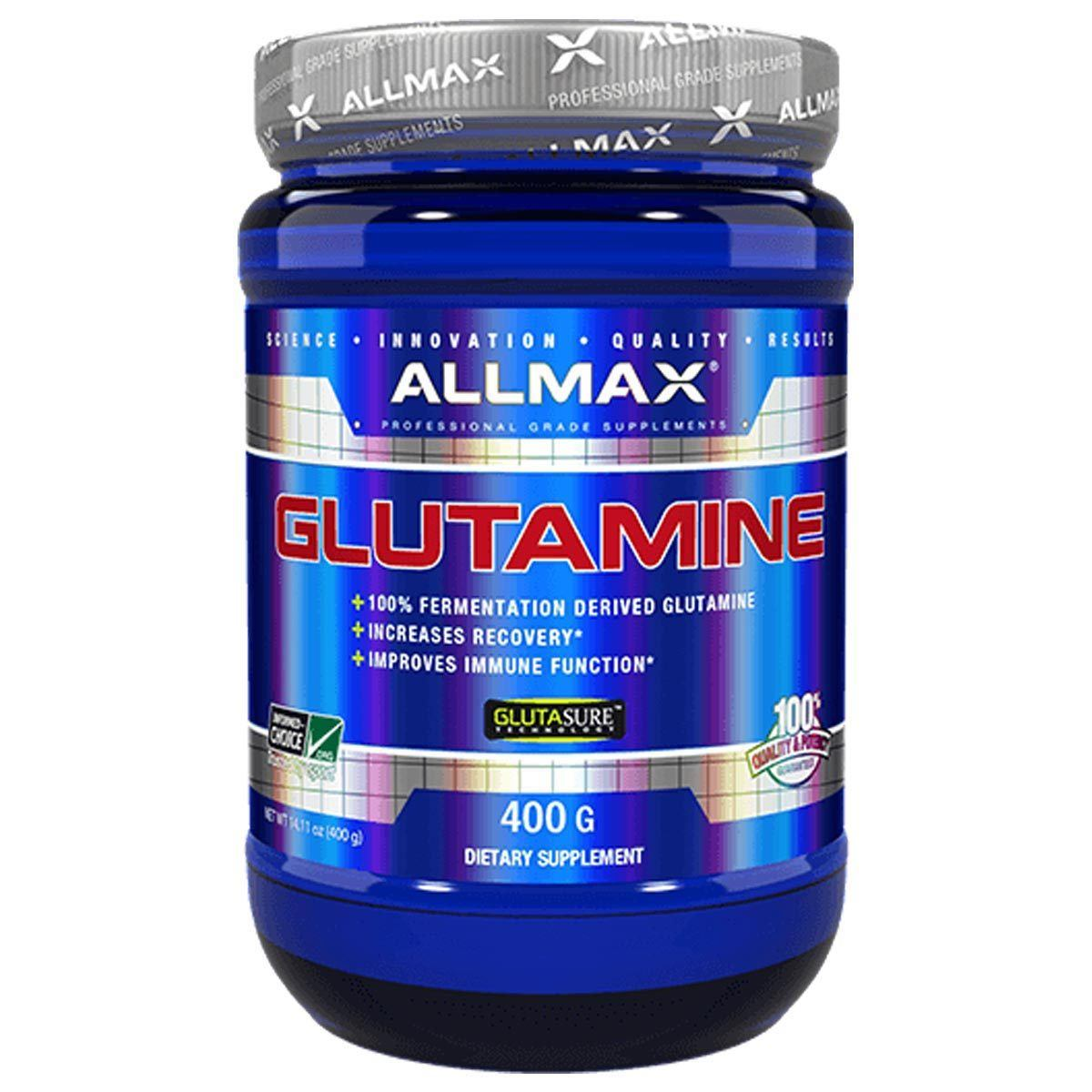 Allmax Nutrition Glutamine 400 Grams Amino Acids Allmax Nutrition  (1058581610539)