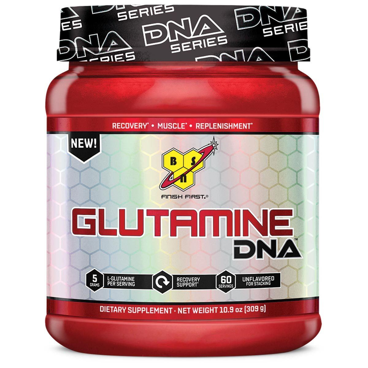 BSN Glutamine DNA 60 Servings Amino Acids BSN  (1059183067179)