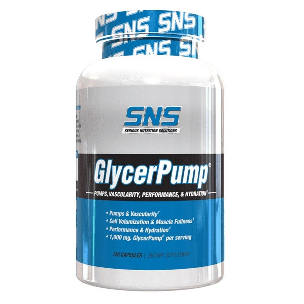 Serious Nutrition Solutions (SNS) GlycerPump 120 Caps Nitric Oxide Serious Nutrition Solutions  (1818669514795)