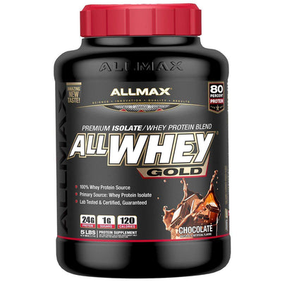 Allmax Nutrition AllWhey Gold 5 Lbs Protein Allmax Nutrition Chocolate  (1058609791019)