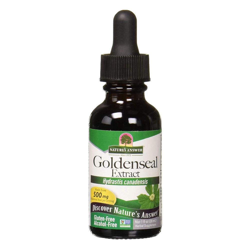 Nature's Answer Goldenseal Root 1oz | Immune Health Herbs Nature's Answer  (1782424698923)