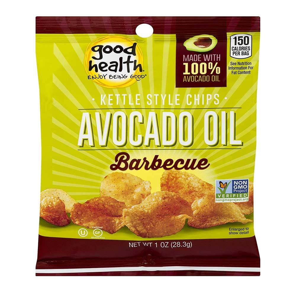 GHNF Kettle Chips 30/bags Fat Burner Good Health Natural Foods Avocado Oil BBQ  (4592169975873)