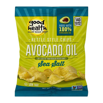 GHNF Kettle Chips 30/bags Fat Burner Good Health Natural Foods Sea Salt  (4592169975873)