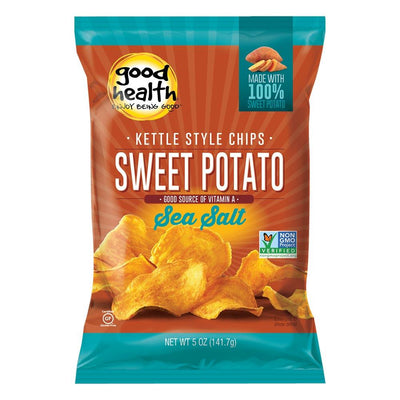 GHNF Kettle Chips 30/bags Fat Burner Good Health Natural Foods Sea Salt Sweet Potato  (4592169975873)