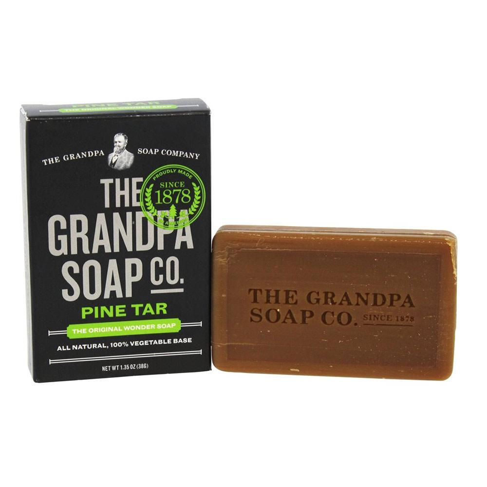 Grandpa's Soap Co. Pine Tar Soap 3.25oz Personal Care& - Hygeine Grandpa's  (1770988699691)