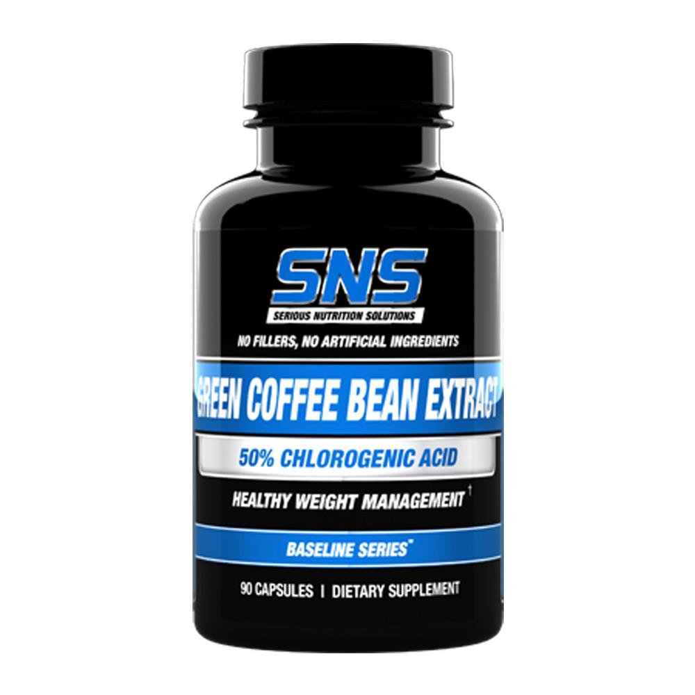 Serious Nutrition Solutions (SNS) Green Coffee Bean Extract 90 Capsules (4464159129665)