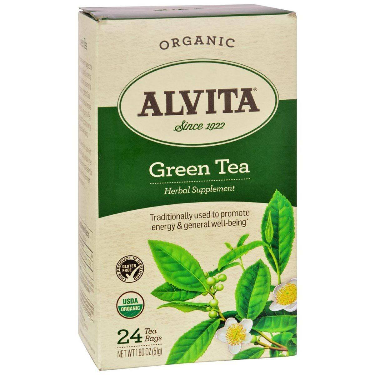 Alvita Chinese Green Tea 30 Bags Teas Alvita  (1058836217899)